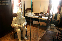 The remodeled Mark Twain Boyhood Home in Hannibal includes life-sized sculptures of author Samuel Clemens.
