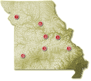 Missouri Wine Regions