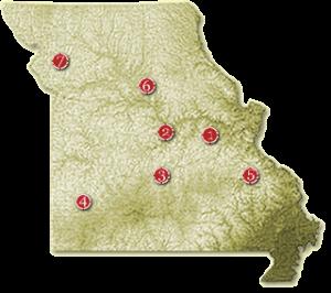 Missouri Wine Regions